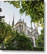 Notre Dame Cathedral - Paris, France Metal Print