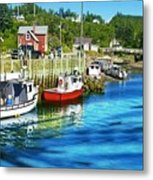 Nova Scotia Metal Print