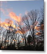 November At Twilight Metal Print