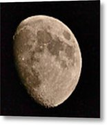 November Moon - Photograph Metal Print
