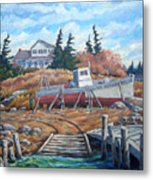 Novia Scotia Metal Print
