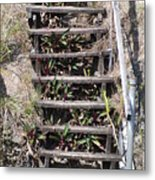 Nowhere Stairs Metal Print