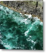 Nowhere To Go Cliffs Of Moher Ireland Metal Print