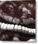 Nowt Netted Metal Print