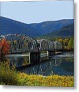 Noxon Bridge Metal Print