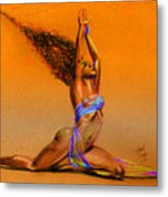 Nrg Sunset Metal Print