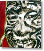 Nuba Paint Metal Print