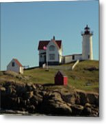 Nubble Light 4 Metal Print