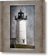 Nubble Light Maine Metal Print by Carol Leigh