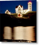 Nubble Stars Metal Print