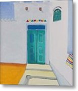 Nubian House Metal Print