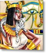 Nubian Queen Metal Print