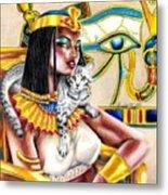 Nubian Queen Metal Print