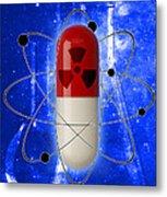 Nuclear Medicine Metal Print