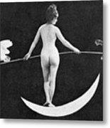 Nude Allegory, 1890s Metal Print