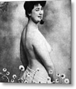 Nude And Flowers, 1903 Metal Print