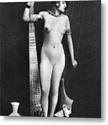 Nude As Ancient Egyptian Metal Print