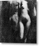 Nude Couple, 1910 Metal Print