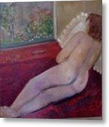 Nude- Derriere 1 Metal Print