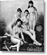 Nude Group, 1889 Metal Print