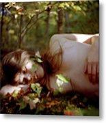 Nude In Nature 4 Metal Print