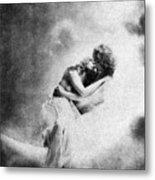 Nude Love Scene, 1890s Metal Print