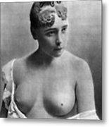 Nude Portrait, C1885 Metal Print
