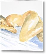 Nude Serie Metal Print