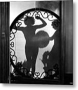 Nude Shadow, 1920s Metal Print