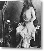 Nude Smoking, 1913 Metal Print