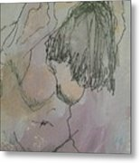 Nude Study One Metal Print