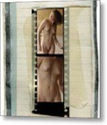 Nude Taped Images 1 And 2 Metal Print