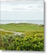 Number 1 From The Whites At Spanish Bay Metal Print