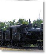 Number 6 Shay Steam Engine Metal Print