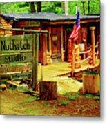 Nuthatch Studio Metal Print