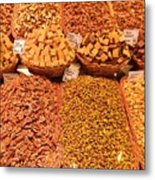Nuts And Candy Metal Print