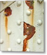 Nuts Bolts And Rust Metal Print