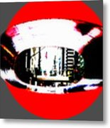 Ny 57th Street Fisheye Metal Print