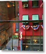 Ny Architecture Paint  Metal Print