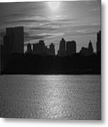 Ny Panorama Vertical Metal Print