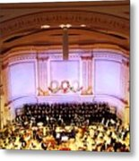 Ny Pops At Carnegie Hall Metal Print
