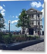 Nyc Battery Park Metal Print