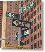 Nyc Broadway 2 Metal Print by Debbie DeWitt