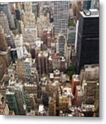 Nyc Cityscape Metal Print