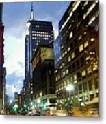 Nyc Fifth Ave Metal Print