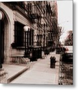 Nyc Neighborhood Series Metal Print