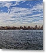 Nyc Skyline From Williamsburg Metal Print