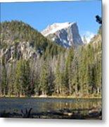 Nymph Lake In Rocky Mountain National Park Metal Print