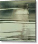 Nymph Walking On Water Metal Print