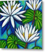 Nymphaea Blue Metal Print